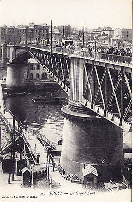 Le Grand Pont France Postcard - Cakcollectibles
