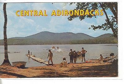 Lake Eaton Campsite, Long Lake, N. Y. - Cakcollectibles