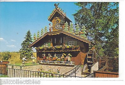 """The World's :argest Cuckoo Clock""-Alpine-Alpa,Wilmot,Ohio - Cakcollectibles"