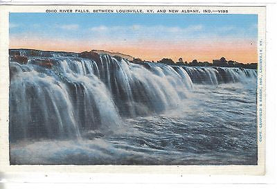 Ohio River Falls,between Louisville,Ky. and New Albany,Ind. - Cakcollectibles