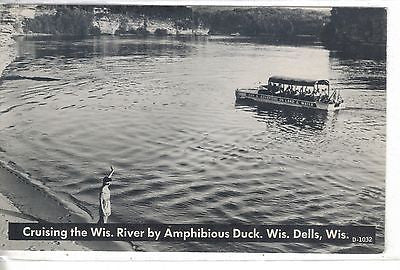 Cruising The Wisconsin River by Amphibious Duck-Wisconsin Dells,Wisconsin - Cakcollectibles