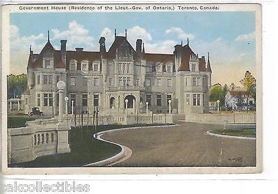 Government House-Toronto,Canada - Cakcollectibles