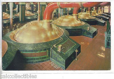 A Partial View of The 19 Brewing Kettles at Stroh Brewery Co.-Detroit,Michigan - Cakcollectibles