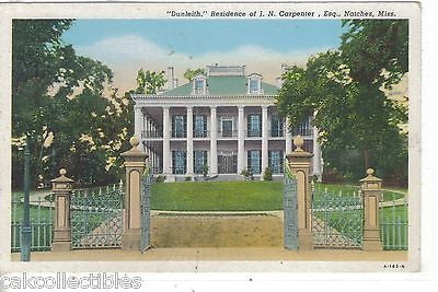 """Dunleith"",Residence of J.N. Carpenter,Esq.-Natchez,Mississippi - Cakcollectibles"
