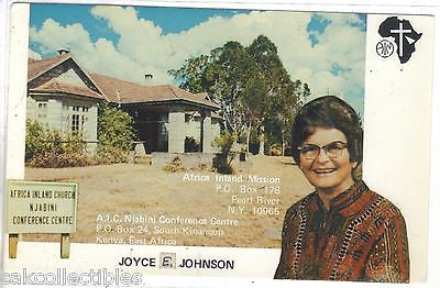 Joyce E. Johnson,A.I.C. Njabini Conference Centre-Kenya,East Africa - Cakcollectibles