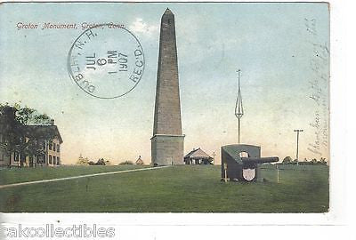 Groton Monument-Groton,Connecticut 1907 - Cakcollectibles