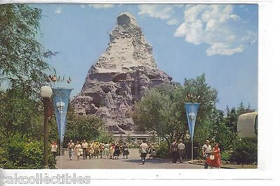 Matterhorn,Tomorrowland-Disneyland - Cakcollectibles - 1