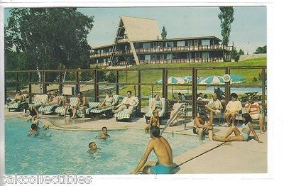 Swimming Pool,Gay El Rancho Resort Ranch-Gaylord,Michigan - Cakcollectibles - 1