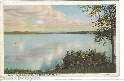 The St. Lawrence River-Thousand Islands,New York - Cakcollectibles