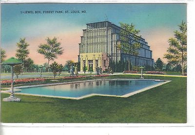 The Jewel Box,Forest Park-St. Louis,Missouri 1949 - Cakcollectibles