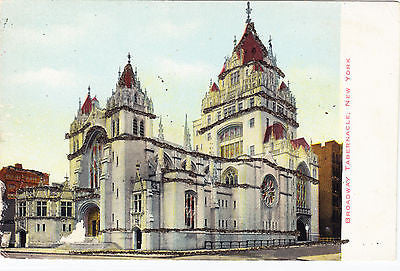 Broadway Tabernacle New York Postcard - Cakcollectibles