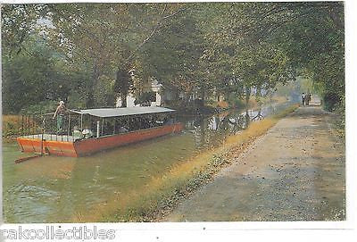 Barge Ride on The Delaware Canal,New Hope,Bucks County,Pennsylvania - Cakcollectibles