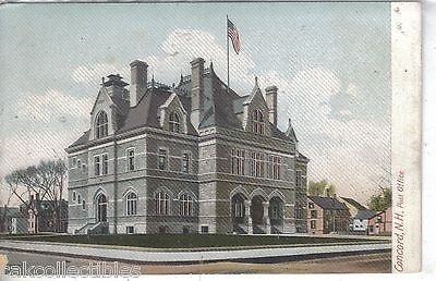 Post Office-Concord,New Hampshire UDB - Cakcollectibles