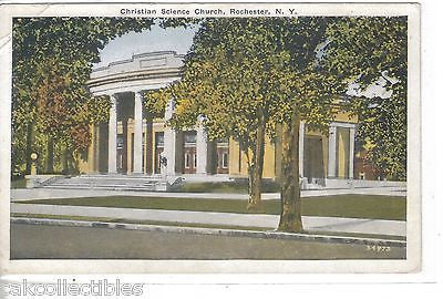 Christian Science Church-Rochester,New York 1932 - Cakcollectibles
