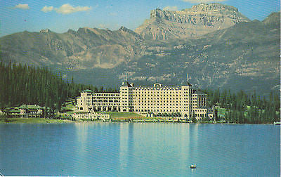 Canadian Rockies, Chateau, Lake Louise, Canada Postcard - Cakcollectibles - 1