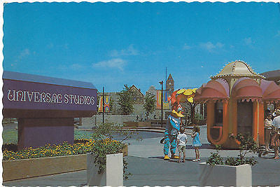 """Woody Woodpecker Greets Kids"" Universal Studio Tours Postcard - Cakcollectibles - 1"