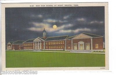 New High School by Moonlight-Bristol,Tennessee - Cakcollectibles