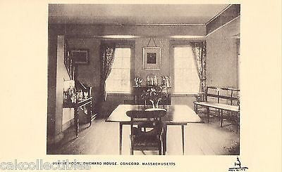 Dining Room,Orchard House-Concord,Massachusetts UDB - Cakcollectibles