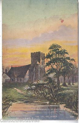 The Village Church 1911 - Cakcollectibles