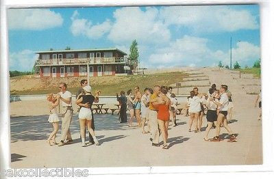 Afternoon Dancing at Gay El Rancho Resort Ranch-Gaylord,Michigan - Cakcollectibles - 1