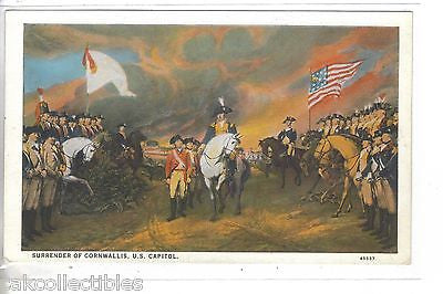 Surrender of Cornwallis-Painting at U.S. Capitol - Cakcollectibles