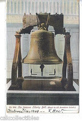The Famous Liberty Bell 1909 - Cakcollectibles