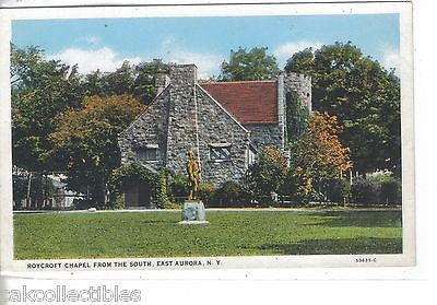 Roycroft Chapel from the South-East Aurora,New York - Cakcollectibles