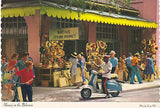 """Nassau Straw"" - Nassau In The Bahamas Postcard - Cakcollectibles - 1"