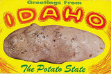 "Greetings From Idaho ""The Potato State"" Postcard - Cakcollectibles - 1"