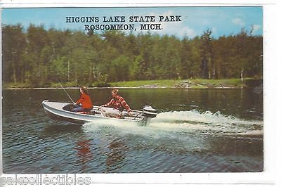 Fishing Boat,Higgins Lake State Park-Roscommon,Michigan - Cakcollectibles