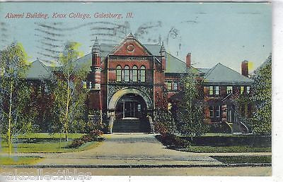 Alumni Building,Knox College-Galesburg,Illinois - Cakcollectibles