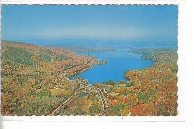 Aerial View-Newberry on Lake Sunapee-New Hampshire - Cakcollectibles