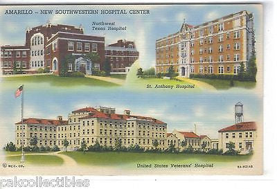 New Southwestern Hospital Center-Amarillo,Texas - Cakcollectibles