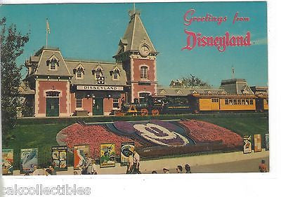 Floral Mickey Mouse-Greetings from Disneyland - Cakcollectibles - 1