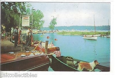 Jimmerson Creek,looking toward Bledsoes Beach-Lake James,Indiana - Cakcollectibles