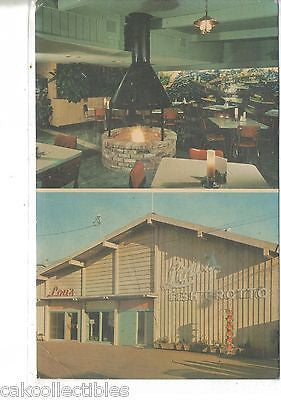 Lou's Fish Grotto,Old Fisherman's Wharf-Monterey,California - Cakcollectibles - 1