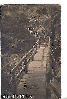 Rustic Bridge-Menomonie,Wisconsin - Cakcollectibles