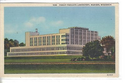 Forest Products Laboratory-Madison,Wisconsin - Cakcollectibles