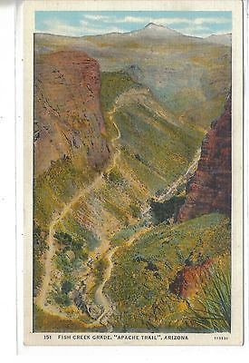 "Fish Creek Grade,""Apache Trail""-Arizona - Cakcollectibles"