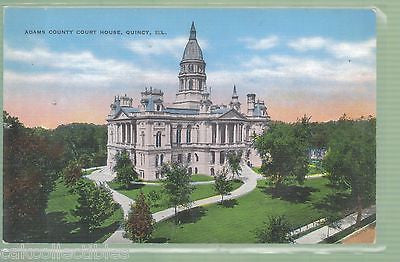 Adams County Court House-Quincy,Illinois - Cakcollectibles