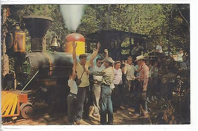 """Train Robbery""-Frontier Town-Adirondack Mts.-New York 1970 - Cakcollectibles"