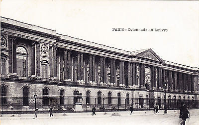 Colonnade Du Louvre Postcard - Cakcollectibles