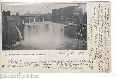 Upper Falls,Genesee River-Rochester,New York 1905 - Cakcollectibles - 1