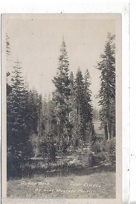 RPPC-Glassy Lake,Camp Elwell on Line Western Pacific - Cakcollectibles