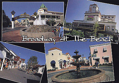"""Broadway At The Beach"" - Myrtle Beach, South Carolina Postcard - Cakcollectibles - 1"