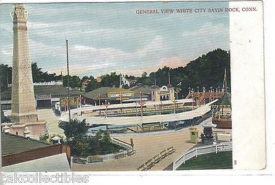 General View,White City-Savin Rock,Connecticut UDB - Cakcollectibles