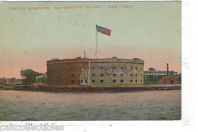 Castle Williams,Governor's Island-New York 1912 - Cakcollectibles