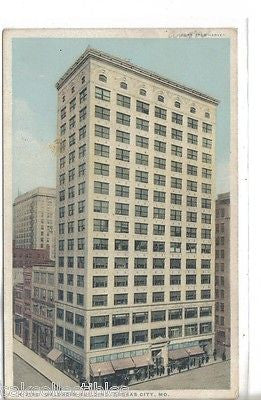 Waldheim Building-Kansas City,Missouri (Fred Harvey) - Cakcollectibles