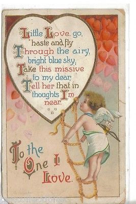 Valentine Day Post Card-Clapsaddle 1912 - Cakcollectibles - 1