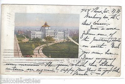 Library of Congress-Washington,D.C. 1901 - Cakcollectibles